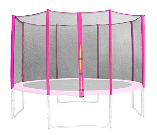 SixBros. Filet de sécurité de rechange rose pour trampoline de jardin 1,85 M - 4,60 M - dimensions différentes - SN-ON/1951