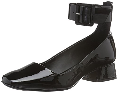 Bronx Damen Paolo Pumps, Schwarz (Black 01), 36 EU (3UK)