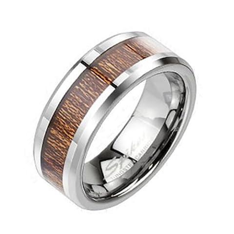 Tapsi´s Coolbodyart® Unisex Tungsten Ring silber mit