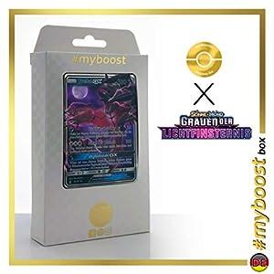 Yveltal-GX 79/131 - #myboost X Sonne & Mond 6 Grauen Der Lichtfinsternis - Box de 10 Cartas Pokémon Aleman