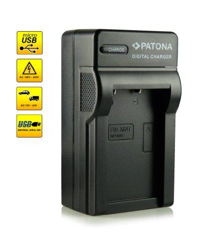 ¡Novedad! - El primero cargador de batería con conexión micro USB · adecuado para la batería NP-200 para Minolta Dimage X | Xi | Xt | Xg | Z y mucho