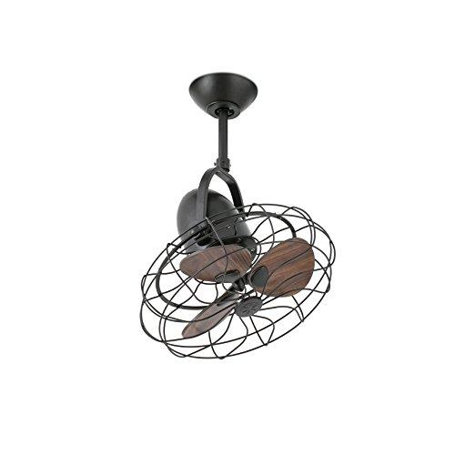 Faro Keiki Ventilatore da Soffitto, Marrone