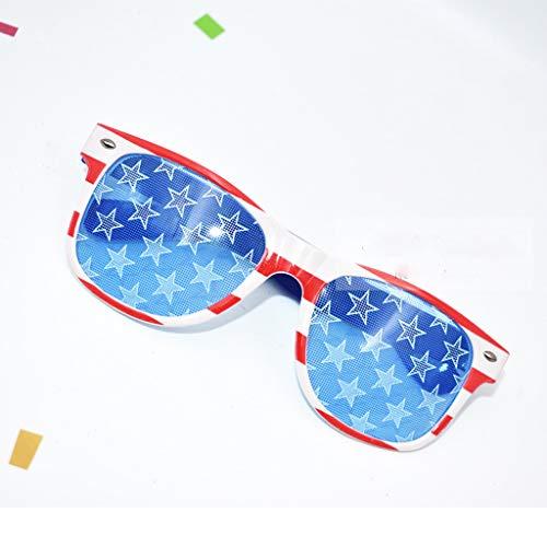 Mitlfuny Karnevalsparty Fancy Festival Zubehör,Lustige verrückte Kostüm Brillen Neuheit Kostüm Party Sonnenbrillen Zubehör
