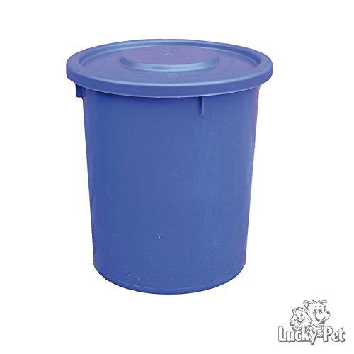 Futtertonne Futteraufbewahrung 37Liter Tierfutter Hund Katze Pferd (blau)