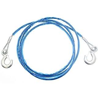 Abschleppseil Spannseil Zugseil Stahlseil Seil 3,5m x 8mm 3000kg 3 t