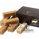 Fudge Luxury Gift Box, 10 Large Assorted Fingers: Caramel, Creamy Vanilla, Sea Salted Caramel, Rum & Raisin, Mixed Flavours Gift, Gluten Free 440g