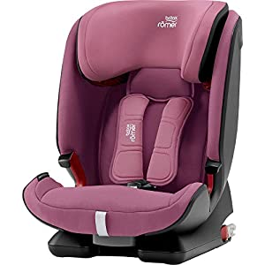 Britax Römer ADVANSAFIX IV M Group 1-2-3 (9-36KG) Car Seat- Wine Rose   6