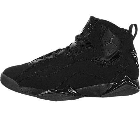 Pour homme Jordan True Flight Basketball Chaussures - noir - noir/gris foncé,
