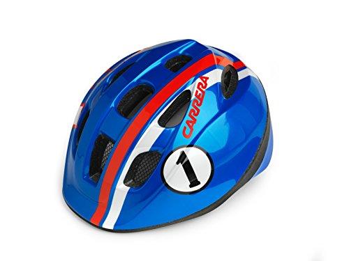 Carrera Pepe Casque de vélo Enfant Mixte, Blue Race, Taille S