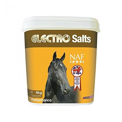 NAF Electro Salts Salz-Nahrungsergänzung für Pferde (4 kg) (Durchsichtig)