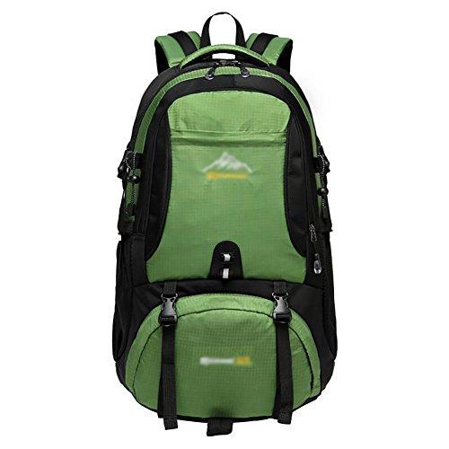 HWLXBB Outdoor Bergsteigen Tasche Männlich und Weiblich 60L Wasserdichte Mehrzweck-Bergsteigen Tasche Wandern Camping Bergsteigen Rucksack 4*