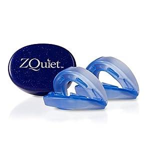ZQuiet Set – 2 Anti-Schnarchschienen (2 mm und 6 mm Vorschub) – effektive Schnarchstopper – gute Alternative zu Nasendilatatoren, Nasenpflastern, Nasenklammern, Nasensprays, Schnarch-Mundstücken und Anti-Schnarchringen (SomniShop Set S 200)