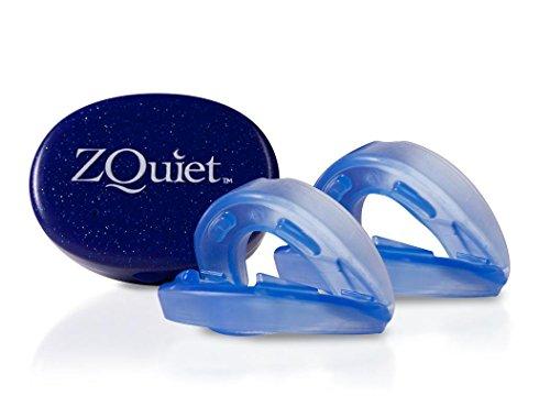 ZQuiet Set - 2 Anti-Schnarchschienen (2 mm und 6 mm Vorschub) - effektive Schnarchstopper - gute Alternative zu Nasendilatatoren, Nasenpflastern, Nasenklammern, Nasensprays, Schnarch-Mundstücken und Anti-Schnarchringen (SomniShop Set S 200)