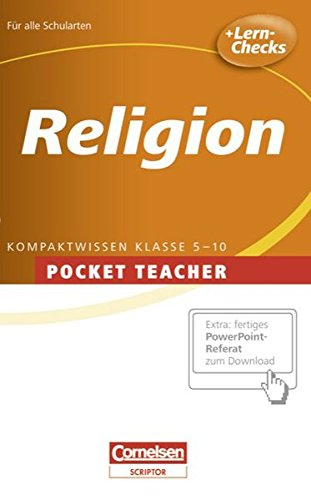 Pocket Teacher - Sekundarstufe I: Religion