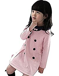 Etosell Filles Bebe Longues Manches Dress 2-7 Ans