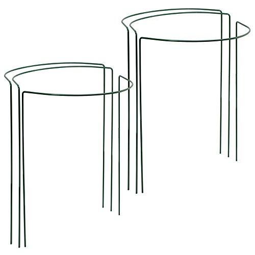 Com-four® - sostegni per fiori, piante perenni e piante rampicanti, a forma di semicerchio, disponibile in diverse misure