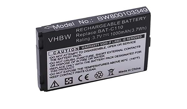 Original VHBW ® batería 1000mah para Emporia seniorentelefon TELME c131 bat-c110
