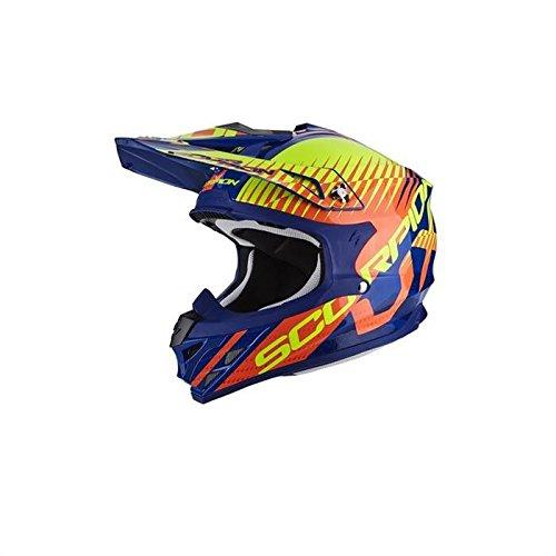 Scorpion Helm Motorrad vx-15Evo Air Sin, mehrfarbig, Größe M (Motorrad Evos Helm)