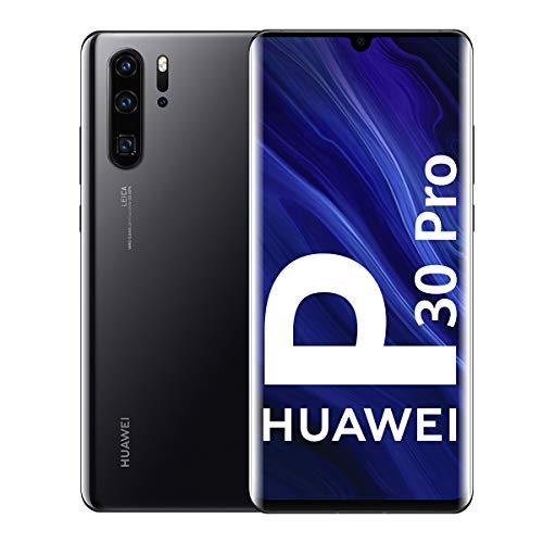 Oferta de Huawei P30 Pro - Smartphone de 6.47 (Kirin 980 Octa-Core de 2.6GHz, RAM de 8 GB, Memoria interna de 128 GB, cámara de 40 MP, Android) Color Negro [Versión española]