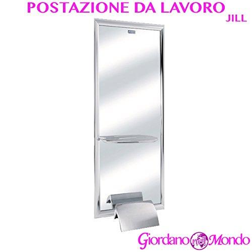 Specchio salone parrucchiere a parete jill ceriotti arredamento negozio