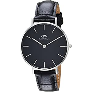 Daniel Wellington Reloj Analógico para Mujer de Cuarzo con Correa en Cuero DW00100179
