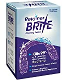 Retainer Brite Cleaning Tablets - 96 Tablet Pack...