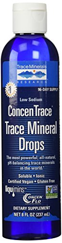 Trace Minerals Research - Concentrace Trace Mineral Drops, 8 fl oz liquid (Pack of 2)