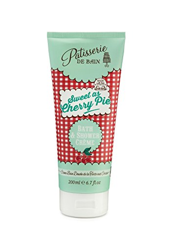 Rose And Co Patisserie De Bain Sweet as Cherry Pie Bath and Shower Crème 200ml