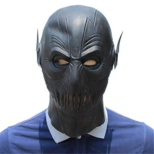 (Party Liefert Schwarze Flash-Kopfbedeckung Lizard Maske Halloween Dekoration Kostüm Maske Cosplay Volle Kopfmaske Látex)