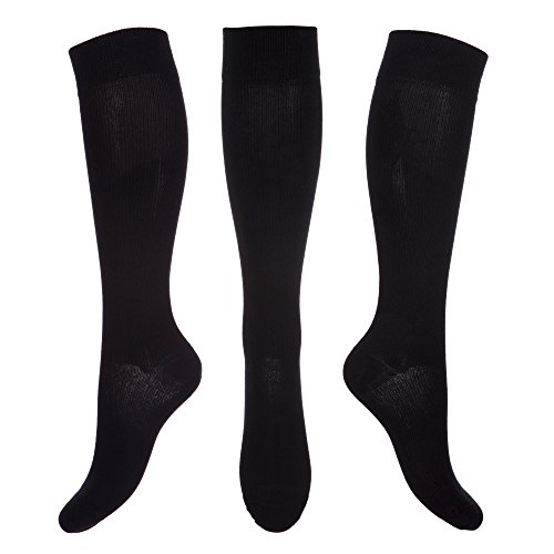 Kensington Compression Socks for Men & Women. Stay Well Anti-DVT Graduated Fit for Pain Relief, Recovery, Endurance, Shin Splints, Flight Travel, Maternity. Boost Leg Stamina