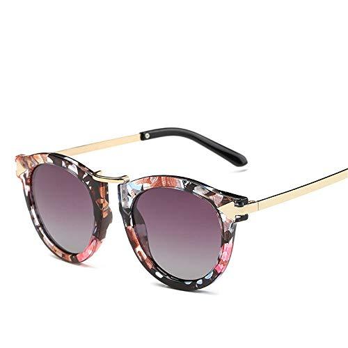 MJ Glasses Sonnenbrillen Polarisierter Pfeilzustrom des Farbfilm-Retro-Polarisators, C