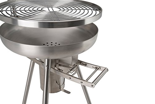 Landmann Holzkohlegrill Collection Nummer 1 : Landmann holzkohlegrill collection nummer 1 rundgrill silber