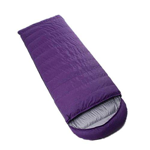 RJ YXX Schlafsack Vier Jahreszeiten Tragbar Praktisch Multifunktion Schlafsack Im Freien Camping Winddicht Wasserdicht Anti-kalt, Kaschmir Inhalt von 1200 Gramm -