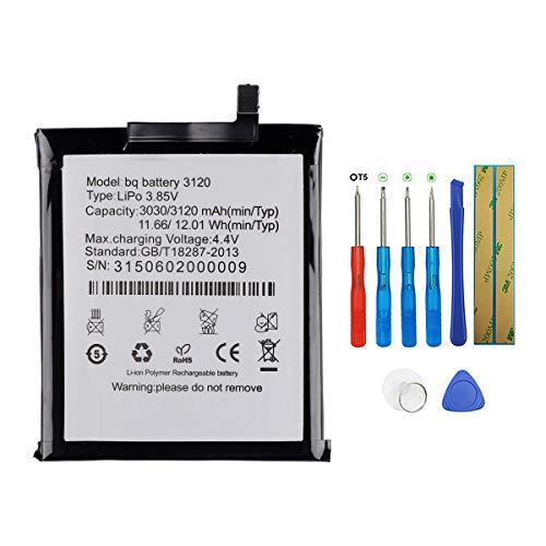 SWARK BQ 3120 - Batería Compatible BQ Aquaris M5