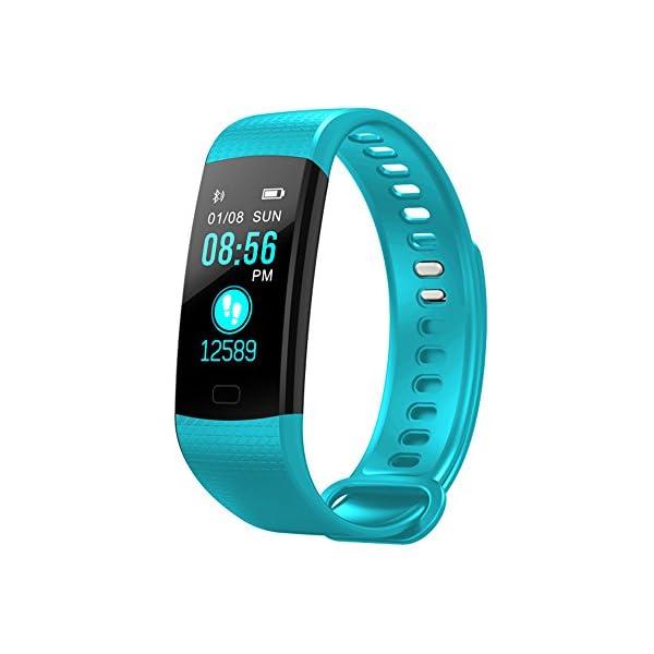 YILON Pulsera Actividad Fitness Tracker Pulsera Inteligente Reloj Fitness Podómetro Monitor de Ritmo cardíaco IP67… 2