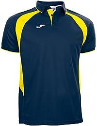 Joma - Polo champion iii marino-amarillo m/c para hombre