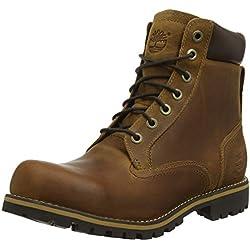 """Timberland Earthkeepers Rugged 6"""" Waterproof, Botas Hombre, Marrón (Medium Brown), 42 EU (8 UK)"""