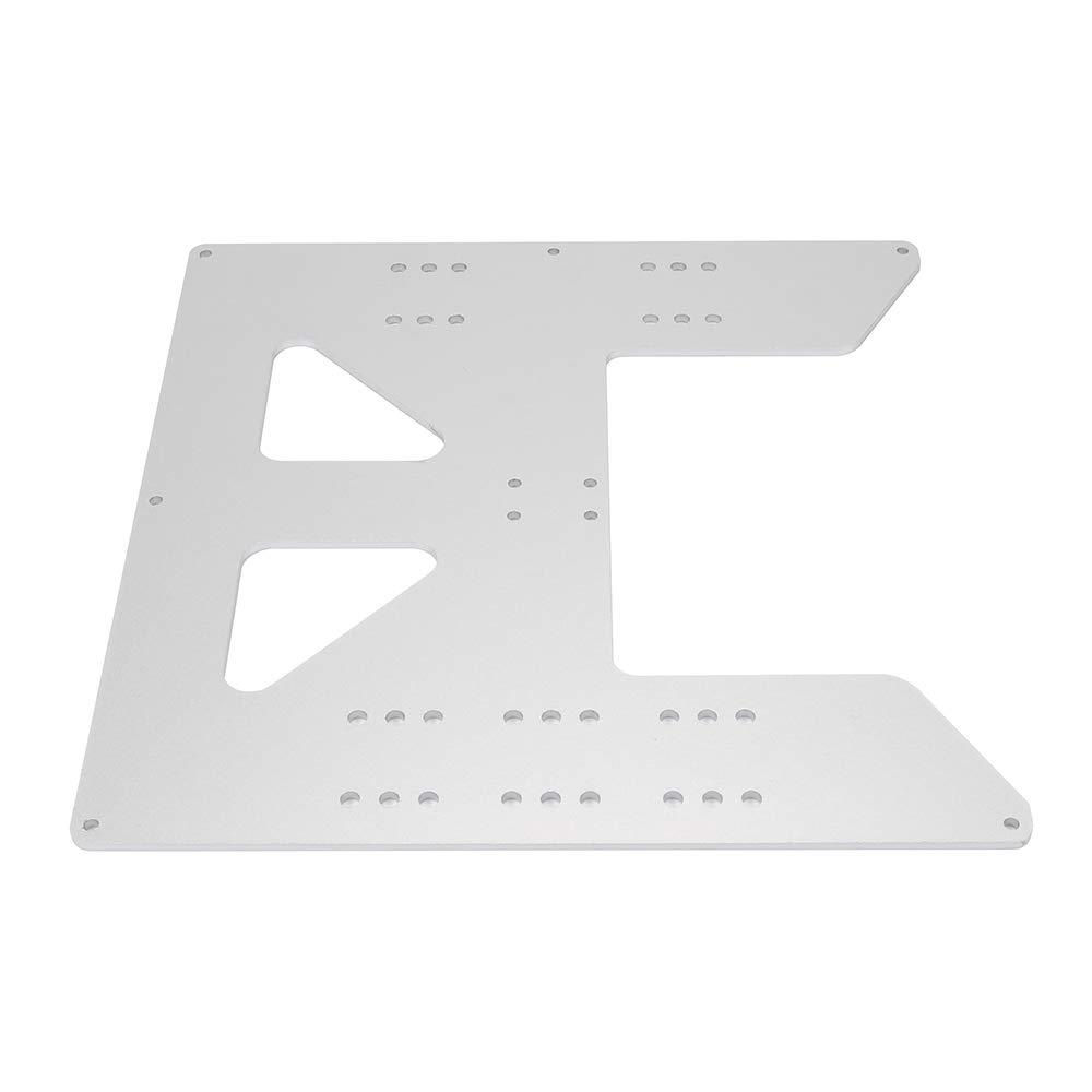 FYSETC Anet A8 pièces, plaque 21,8 x 21,8 cm en aluminium anodisé plaque de carrosserie pour imprimante 3D Anet A8 A6 i3 support de lit chauffant DIY