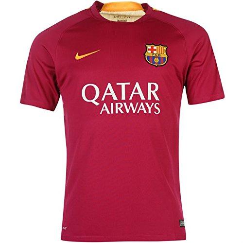 2015-2016 Barcelona Nike Pre-Match Training Jersey (Dynamic Berry) (Barcelona Pre-match)