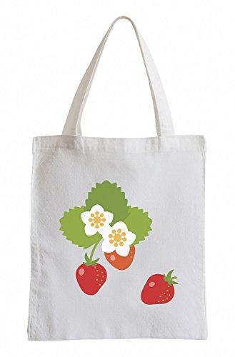 Sinnlichen Erdbeere (Raxxpurl Erdbeeren Fun Jutebeutel)