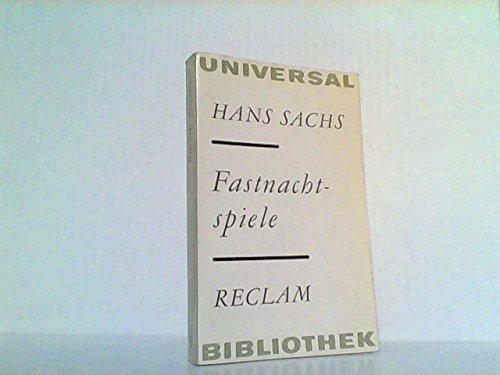 Fastnachtspiele. (Neuhochdeutsche Fassung von K.M.Schiller von 1957) (RUB, 0521)