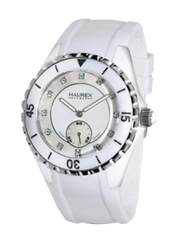 Haurex Italy 1W337DWS Womens Riviera Mother-of-Pearl Dial Watch