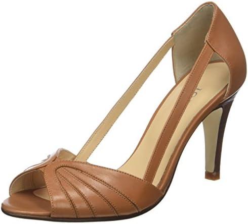 JONAK Dagilo, Zapatos de Tacón con Punta Abierta para Mujer