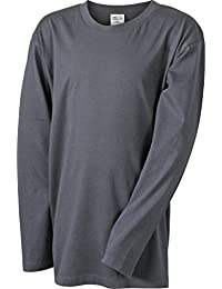 JAMES & NICHOLSON Tee-shirt manches longues en single jersey