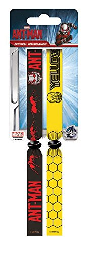Marvel ANT Man Doppeltes Festival Armband-Set Tv-serien-hawk