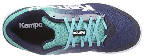 Kempa K-FLOAT Unisex-Erwachsene Handballschuhe Mehrfarbig (jade grün/dusk blau)