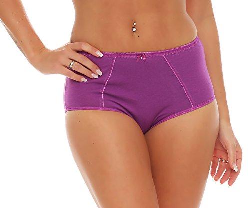 Damen Slip / Schlüpfer viele Farben Nr. 426 Violett