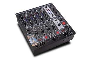 DJ-Tech DDM-3000 Analoger 5-Kanal DJ-mixer mit 24-Bit DSP-Effektsektion