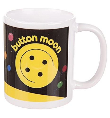 Button Moon Mug - Officially Licensed