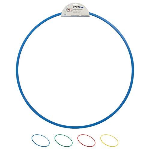 Gymnastikreifen aus Kunststoff, Hula Hoop, Trainingsreifen, Turnreifen, 80 cm